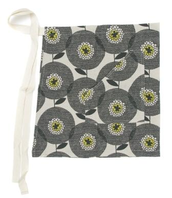 Cheeky apron flower fields Penny Black