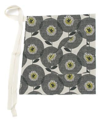 Cheeky apron flower fields Penny Black